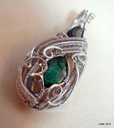 S.S. wire wrapped pendant by Jwall805http://jwall805.deviantart.com/art/S-S-wire-wrapped-pendant-376179716