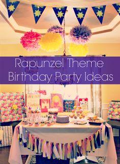 Rapunzel / Tangled Birthday Party ideas