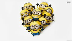 Minions are cool, interesting and giggling creatures, source of entertainment. Here is collection of minions wallpapers. These wallpapers are simply cool. Minion Photos, Minions Images, Funny Minion Pictures, Minions Quotes, Funny Pics, Minion Talk, My Minion, Minion Movie, Minions Despicable Me