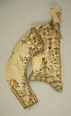 Doublet Date: 1600 Culture: European, Eastern Medium: silk Dimensions: Height: 22 in. (55.9 cm) Credit Line: Gift of Bashford Dean, 1923 Accession Number: 23.30.3