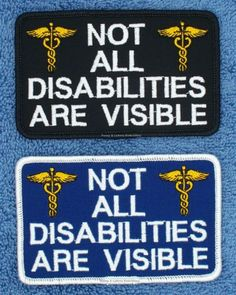 NOT-ALL-DISABILITIES-ARE-VISIBLE-SERVICE-DOG-PATCH-2-5X4-Danny-LuAnns-Embroide