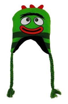 Yo Gabba Gabba *brobee* Knit Winter Fleece Lining Hat Youth Kids' Clothing, Shoes & Accs Clothing, Shoes & Accessories