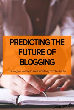 I found it interesting that this article talks so much about blogging as a business but in the beginning of it refers to it as a hobby. This article also talks about the important of content.   enough there's mention that the format of blogging will change to begin looking like traditional websites (well, that's predicted).