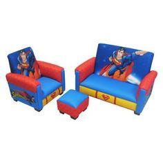 Warner Brothers Superman Deluxe Toddler Living Room Set - 90131