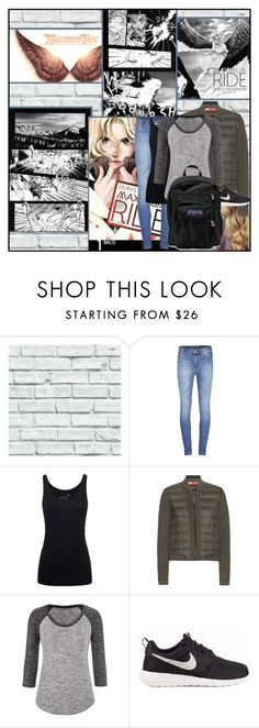 """Maximum Ride Manga 1"" by turtle-the-fangirl ❤ liked on Polyvore featuring Cheap Monday, Juvia, NIKE, maurices, JanSport, TurtleTheFangirlOutfits, TurtleTheFangirlFandomOutfits and turtlestopforgetting"