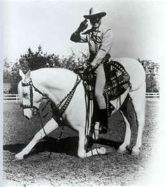 "I learned something new today.  The Lone Ranger's horse ""Silver"" was a Lipizzan."