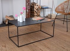 Table basse en metal Allure