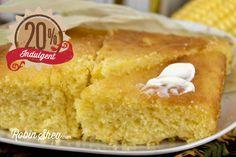 Sweet & Buttery Cornbread - Robin Shea