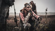 Zone Rats Larp / post apocalyptic / wasteland / dystopia / women's fashion / cosplay