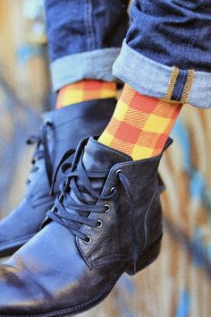 [His] Sunday's Best: Step Up Your Sock Game.✖️More Pins Like This One At FOSTERGINGER @ Pinterest✖️