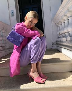 Style Outfits, Pink Outfits, Colourful Outfits, Trendy Outfits, Cute Outfits, Fashion Outfits, Womens Fashion, Fashion Trends, Latest Fashion