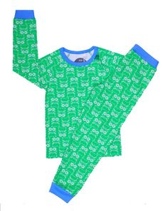 Fred`s World - Pysjamas Fred Printed Green Cotton, My Boys, Printed, Logos, A Logo