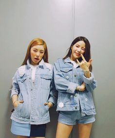 Mamamoo Wheein and Solar