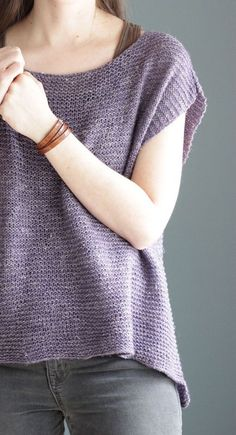 The Brown Stitch Jessie's Girl Pullover Sweater Knitting Pattern (not free)