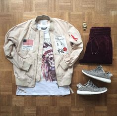 50 Best Outfit Grids Clothing Inspiration For Men We can't deny the fact that social make has the ability to bring anything in … Moda Outfits, Men's Outfits, Style Streetwear, Outfits Hombre, Outfit Grid, Mens Sweatshirts, Pull, Street Wear, Menswear