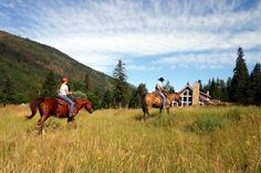 Tod Mountain Ranch. I just won a 5 night stay!!!