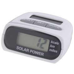 HuaYang Solar Multi-function pedometer LCD Display Calorie Distance Counter Pedometer *** Learn more by visiting the image link. (Amazon affiliate link)