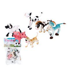 Plastic small animal toy models wildlife world dinosaur toys set. Forest Animals, Zoo Animals, Animals For Kids, Wild Animals, Dinosaur Puzzles, Dinosaur Fossils, Dinosaur Toys, Plastic Dinosaurs, Plastic Animals