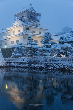 Toyama Castle :: Toyama (富山) Japan by BG  on 500px Taken Feb 9, 2015