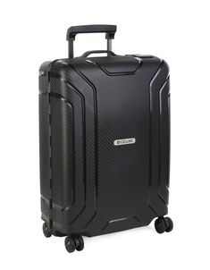 This elegant Carry-on case is a terrific travel companion to have on board your flight. Cellini Safetech is manufactured from Polypropylene to create a range of sleek hardshell luggage with distinctive lines in Burgundy, Sage, and Black. There are 4 wheel Carry On Luggage, Carry On Bag