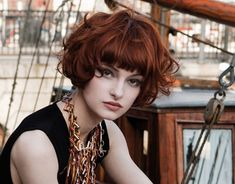 Trendy Short Curly Haircuts With Bangs - New Hairstyles, Haircuts & Hair Color Ideas