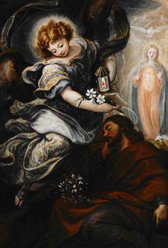 Francisco Rizi. The Dream of St. Joseph, 1665.