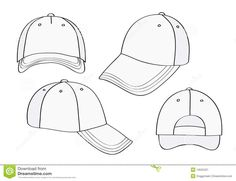 Hat Template Templates Blank Caps Art Tips Artist Outline Stenciling