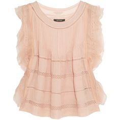 Isabel Marant Ojima ramie, lace and silk top and other apparel, accessories and trends. Browse and shop 22 related looks.
