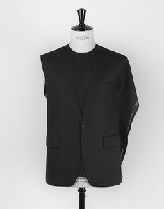 Mason Jung COLSOLIDATION - One piece front jacket