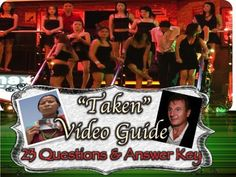 This movie rocks and benefits young viewers!Students are allowed to watch the video Taken featuring Liam Neeson as a supplement to Patricia McCormicks Sold.At the end of the overall unit, students watch Taken and complete a video guide.  The video is two pages in length, consists of twenty-three questions, and a Venn diagram.