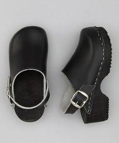Look what I found on #zulily! Black Clog - Kids #zulilyfinds