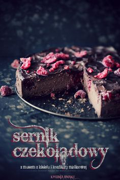 raspberry chocolate cheesecake  what a shame I do not understand a word on the blog...