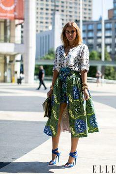 Style de rue: des tenues colorées | Elle Québec