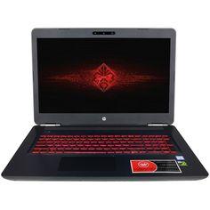 """CUK HP Omen 15t Gamer Notebook (Intel i7-7700HQ, 16GB RAM, 256GB SSD + 1TB HDD, NVIDIA GTX 1050 Ti 4GB) - Best 15.6"""" Full HD Windows 10 Powerful Gaming Laptop Computer"""