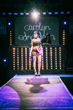 Carolyn Edmondson @ NIGHTWALK 2014  The Arches, Glasgow  #fashion #events #catwalk