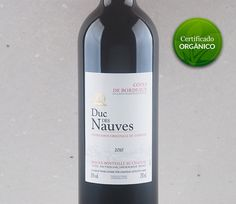 O estilo de Bordeaux: Duc des Nauves #vinho #bordeaux #vinhoorganico #merlot #cabernetfranc #cabernetsauvignon