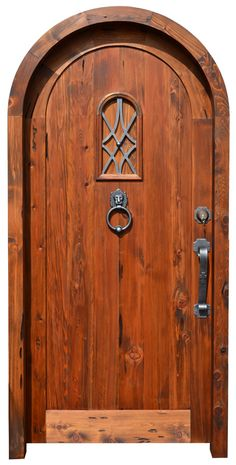 Door With SpeakEasy - 4130AT