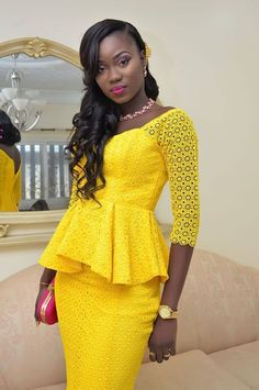 latest ankara skirt and blouse styles stylish ankara skirt and and blouse you should try this weekend African Lace Styles, African Print Dresses, African Print Fashion, Africa Fashion, African Fashion Dresses, African Attire, African Wear, Ethnic Fashion, African Women