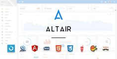 Buy Altair Admin Material Design UIkit Template by tzd on ThemeForest. Altair is a professional Material Design template based on UIkit Framework and jQuery Library. Html Website Templates, Template Site, Menu Template, Website Design Inspiration, Material Design, Menu Layout, Responsive Layout, Admin Panel, Web Design Trends
