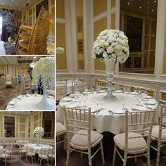 This #Furniture #Friday our simply  Limewash Chivari Chairs are looking lovely at Heathrow Thistle Hotel.  www.alfrescohire.co.uk 01279 870997  #events #wedding #TGIF #weekend #London