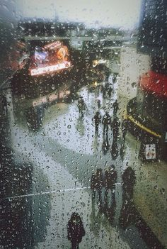 ❤️Rain by oscar_tales It would be fun to take picture through window of kids out in the rain