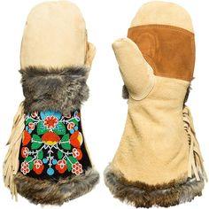 Astis Sacagawea Mitten Tan, M