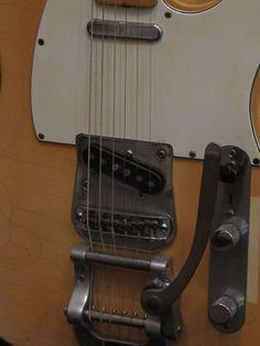 Fender Telecaster 1972 Bigsby - Vintage White
