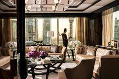 Four Seasons Pudong Shanghai Suite Living Room