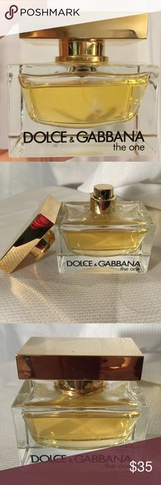 Dolce & Gabbana the One Eau de Parfum Dolce & Gabbana the One Eau de Parfum, 16oz spray. Partially used, first photo shows the actual amount, a lot left to use. Dolce & Gabbana Other