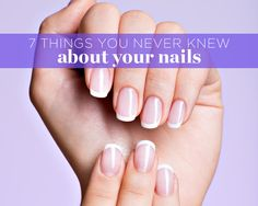 Increase your nail knowledge for prettier, healthier-looking tips.
