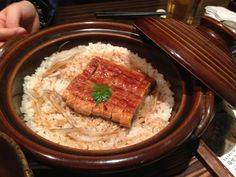 bowl of eel and rice