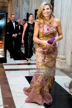 Princess Orrange host a dinner for 150 Dutch people to celebrate his 50th birthday in the on April 28, 2017 in Amsterdam, Netherlands. After the dinner the King and the Queen open the Royal Palace for 50 hours with an exhibition that gives an overview of the Netherlands in the last 50 years.