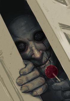 Horror Art by Luke Maddox Arte Horror, Horror Art, Horror Movies, Ghost Movies, Scary Drawings, Dark Art Drawings, Dark Art Paintings, Creepy Monster, Scary Monsters