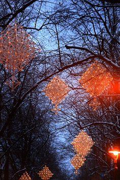 Jouluvalot himmeliin